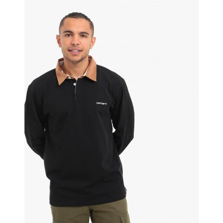 L-S CORD RUGBY POLO